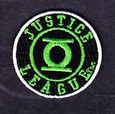 GREEN LANTERN-JUSTICE LEAGUE PATCH-DC COMICS- Iron On  Patch/TV, Movie,Cartoons,