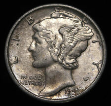 1943 US Mercury Dime 90% Silver Nice Coin Low Shipping (K 1395)