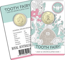 2020 $2 Tooth Fairy Uncirculated Coin in Card - Royal Australian Mint