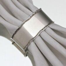 Lutz & Weiss: Serviettenring im Chippendale Stil, Silber, Ring, ohne Gravur, 835