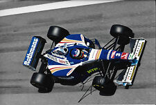 Jacques Villeneuve SIGNED 12x8 F1 Williams FW19 , Spanish GP Barcelona 1997