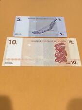 Congo 5 And 10 Francs - 2 Unc Notes
