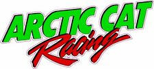 """Arctic Cat Racing Version 2 Decal 6"""""""
