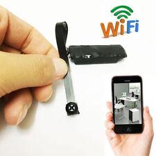 Personal Spy Nanny CAM wireless WIFI IP Pinhole DIY mini black screw camera DVR