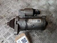 VOLKSWAGEN GOLF Starter Motor Mk7 5G 1.6 Diesel Manual 6sp 02Z911024L