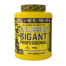 COLOSSUS GIGANT PROFESIONAL 4kg NUTRYTEC CHOCOLATE PROTEINA CARBOHIDRATOS BCAA