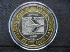 Las Vegas McCarran Airport Slots $10 Gaming Token. 999 Silvercenter. ... Lot 27
