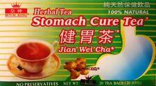 Royal King Stomach Cure Herbal Tea Jian Wei Cha No Preservatives 20 Bags
