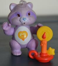 Vintage CARE BEAR COUSIN Poseable Figure BRIGHT HEART RACCOON complete ACCESSORY