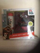 The Secret Life of Pets - Bubble Bath & Duke Wash Mitt Set - 3+