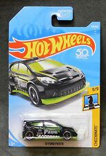 2018 Hot Wheels Car 139/365 '!2 Ford Fiesta - F or G Case