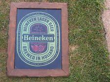 Heineken Beer Mirror Bar Sign