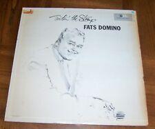 RARE FATS DOMINO 1962 LP - TWISTIN' THE STOMP - EARLY ROCK & ROLL PIONEER - R&B