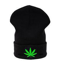 Beanie hat hats Marijuana Weed 420 Leaf Ankle HIGHLIFE Ganja Cannabis Casual LA