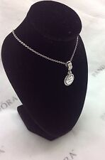 NEW Authentic PANDORA Mother Day SWEET SISTER~Dangle/Hanging Charm/Bead 791126CZ