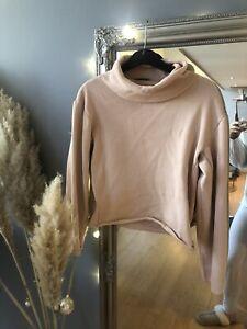Pink / beige Calvin Klein Jumper top Size S