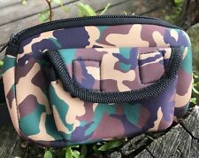 PELLET / BULLET POUCH NEOPRENE COMPLETE WITH BELT  AIR RIFLE  HUNTING
