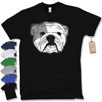 ENGLISH BULLDOG T-SHIRT Englische Bulldogge Hund Geschenk Kult Union Jack Fun