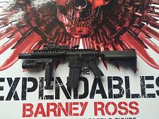 Hot Toys mms138 The Expendables 1 Barney Ross 1/6 Mk 18 Tactical Rifle