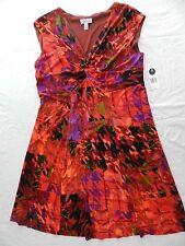 WOMENS beautiful DRESS = KIM ROGERS = SIZE 14W = NEW $84 = ss26
