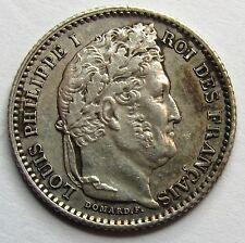 Louis-Philippe Ier - 25 Centimes - 1845 B - Rouen -
