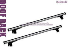 """DEFECTIVE"" 55"" ALUMINUM WINDOW FRAME ROOF RACK CROSS BARS CARGO CARRIER SILVER"