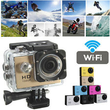 WIFI Full HD 1080P 12MP Extreme Action Sports Camera Camcorder DVR SJ4000 Gold