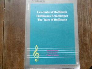 Hoffmanns Erzählungen von Offenbach. Klavierauszug