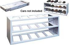 Atlas Plastik Display für 15 Modell Autos 1:43 (weiß)