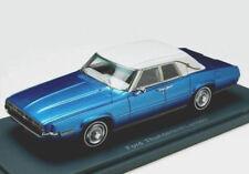 wonderful modelcar FORD THUNDERBIRD LANDAU SALOON 1969 - blue - 1/43 - ltd.Ed.