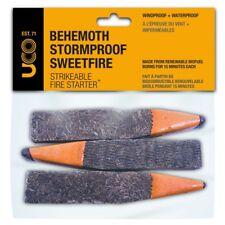UCO Behemoth Stormproof SweetFire Strikeable Fire Starter 15 Min Burn time 3 pkg