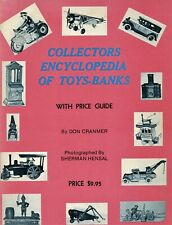 Cast Iron Mechanical Still Banks Toys Cars Trucks Trains / Scarce Book + Values