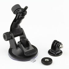 Car Windshield Vacuum Suction Cup Mount + Tripod Adapter For GoPro Hero 5 4 3+ 2