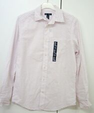 Ladies shirt Gap size XS new wit tag white with pink and grey stripes