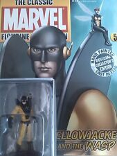 MARVEL,eaglemoss,YELLOW JACKET,WASP,plomb,fascicule,58,AVENGERS,neuf