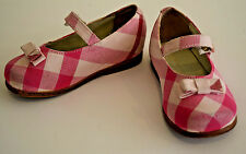 Authentic $265 Burberry Kids Mini Avonwick Ballet Flats Shoes 22 Fit Like 6