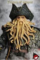 Hot FIGURE TOYS XD TOYS XD001 1/6 Octopus Captain Davy Jones In Stock