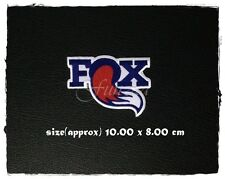 Fox Racing Sew On Patch Iron Embroidered Racing Sport Motocross Motorcycle Logo