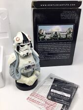 Star Wars Gentle Giant Mini Bust - At-At Driver - Esb Mint Rare #120 Of 2500