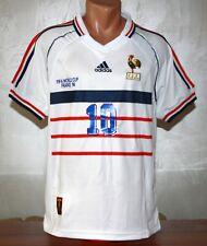 France 1998 ZIDANE # 10 World Cup 98 Jersey