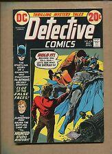 """1972 DC Comics """"DET."""" #430 - Man-Bat App.- Grade: 6.0 WH"""