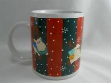 Mulberry Home Collections Holiday Reindeer Mug Cup
