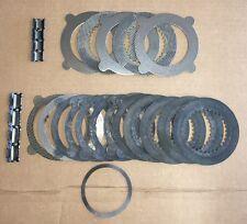 NEW GM 11.5 11 1/2 14 12 BOLT EATON GOV LOC POSI G80 CLUTCH PLATE DISC SET