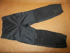MARMOT PRECIP PANTS THUNDERLIGHT RAIN SHELL SEAL SEAM ZIP LEG GORE TEX WOMEN'S M