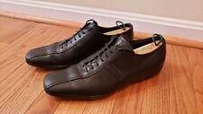 PRADA Shoes Prada Sport Men Classic Lace Up Black Leather Shoes SZ 9 UK 10 US
