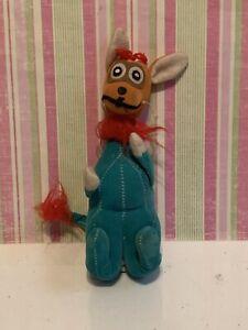 "Vintage old stuff animal fun farm? Dream Pets? Kamar? Japan 715 toy kangaroo 7"""
