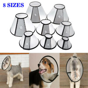 Dog Cat Vet Elizabethan Collar Head Cone Wound Healing Brace 8 sizes Available