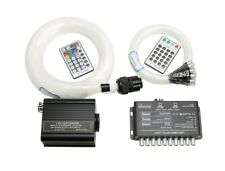 16W RGBW 28 Key Remote LED Fiber Optic Star Ceilling Meteor Lights Kit 300pcs 4M