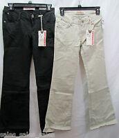Unionbay Girls Chino Pants Flare Stretch Adjustable Waistband