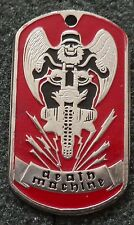 RUSSIAN DOG TAG PENDANT MEDAL    DEATH MACHINE       #193S